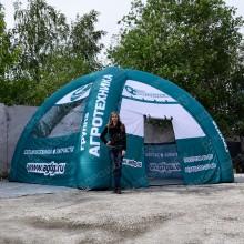 Брендированная палатка