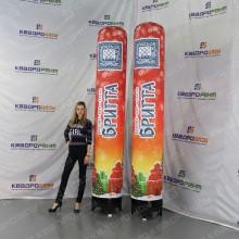 Рекламные колонны из стеклопластика
