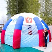 Палатка с изображением