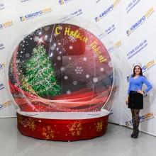 Надувной чудо шар новогодняя фотозона