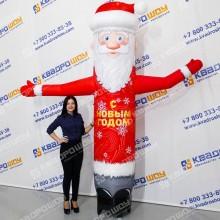 Новогодняя конструкция Дед Мороз Лайт сменные баннера