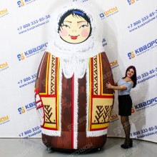 Надувная фигура Матрешка хантыйская