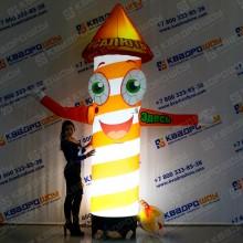 Надувная рекламная фигура Петарда в шляпе