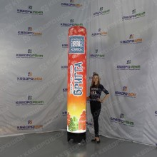 Рекламные колонны из пенопласта