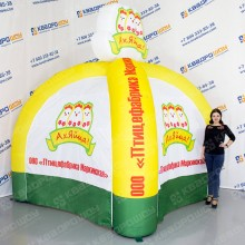 фирменная палатка для птицефабрики на заказ