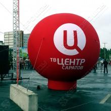Рекламная конструкция Большой шар для ТВ Центр
