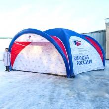 Надувная палатка герметичная