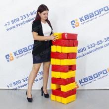 Игровой аттракцион Дженга ПВХ блоки
