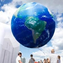 Надувная планета земля
