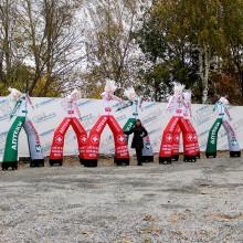 Надувные рекламные человечки Аптека Farmani