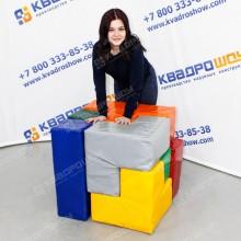 мягкая головоломка кубик рубика