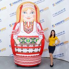 Матрешка надувная в белорусском наряде