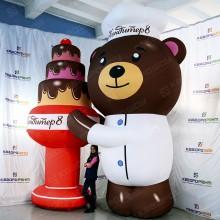 Рекламная фигура Медведь