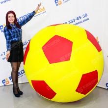 Надувной футбольный мяч ТПУ