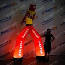 Конструкция Аэромен рекламный танцор