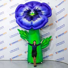Надувная конструкция цветок Виола