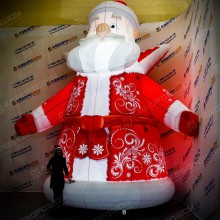 Конструкция Дед Мороз подсветка лампочки