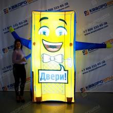 Надувная рекламная фигура Дверь с подсветкой
