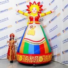 Надувная фигура Девушки на празднование Масленицы
