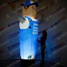 Надувной рекламный продавец с подсветкой