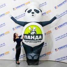 Надувная Панда в поварском колпаке