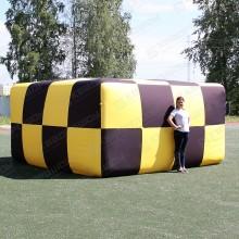 Надувная пневмофигура параллелепипед на заказ