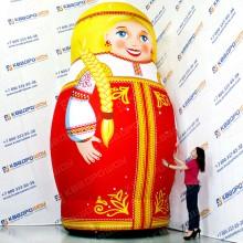 надувная фигура русская матрешка