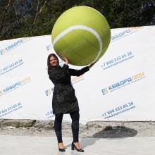 надувная фигура теннисный мяч большого диаметра
