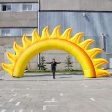Арка надувная Солнышко