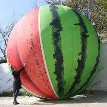 Надувная конструкция огромный арбуз для выставки ярмарки