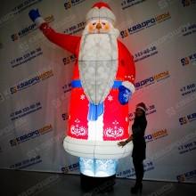 Надувная новогодняя фигура Дед Мороз