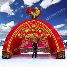 Надувная палатка для торговли на масленицу