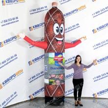 надувная рекламная фигура колбаса для магазина