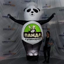 Надувная рекламная Панда с машущей рукой