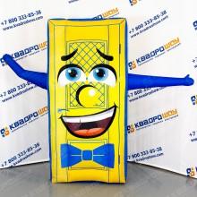 надувная рекламная конструкция дверь