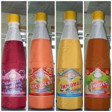 Надувные бутылки Сладкая газвода