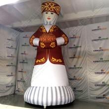 Надувная конструкция Казашка