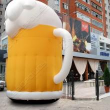 Рекламная надувная конструкция Кружка пива