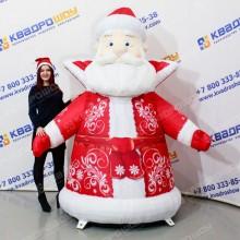 Декорация огромный Дед Мороз