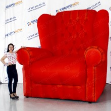 пневмофигура кресло для рекламы