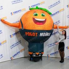 Надувная фигура для автомойки Апельсин