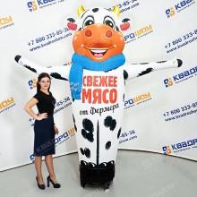 Надувной Бычок для рекламы мясного магазина
