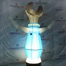 Надувная конструкция гаечный ключ с подсветкой