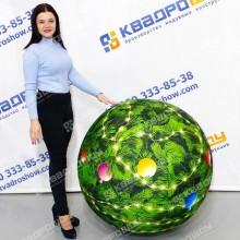 Мяч Новогодний надувной