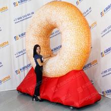 Надувной Пончик на опоре