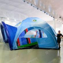 Надувная шестиопорная палатка