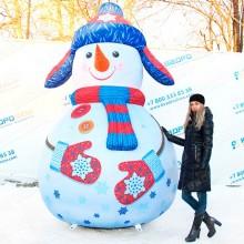 Уличная фигура новогодний Снеговик на заказ