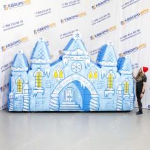 Надувной снежный Дворец
