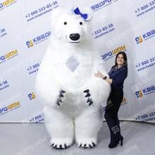 Надувной рекламный медвежонок Пух