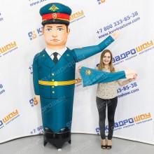 Надувная фигура военный человек